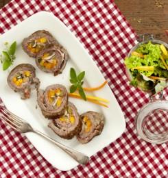 Roulade de Boeuf aux légumes (entrée froide)
